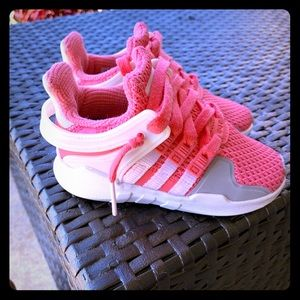 Eqt Addidas toddler size 6 adorable shoes